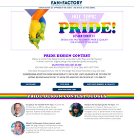 Hot Topic Pride Design Contest