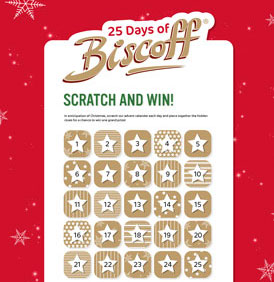 Biscoff Scratch & Win Promotion