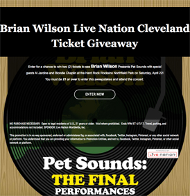 Live Nation Enter-To-Win Sweepstakes