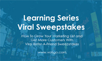 Viral Refer-A-Friend Sweepstakes